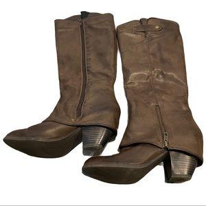 Fergie Ledge Boots Knee High Fergilicious